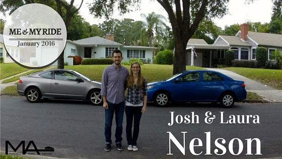 Me and my ride - Josh and Laura Nelson