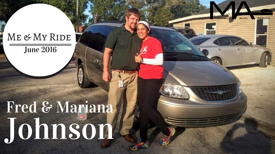 Me & My Ride: Fred & Mariana Johnson
