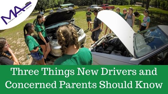 Three Things New Drivers and Concerned Parents Should Know