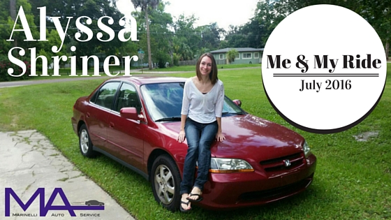 Me & My Ride: July 2016 - Alyssa Shriner